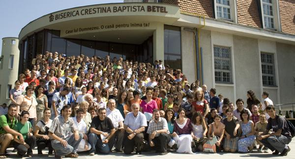poză de grup cu toți participanții la Conferința 2008, Timișoara